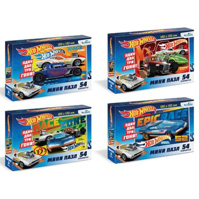 Пазл 54 Hot Wheels.Мини.в асс 06047